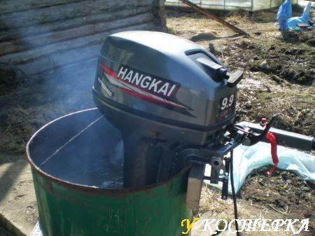 Лодочный мотор hangkai 9.8 и 9.9 в чем отличие