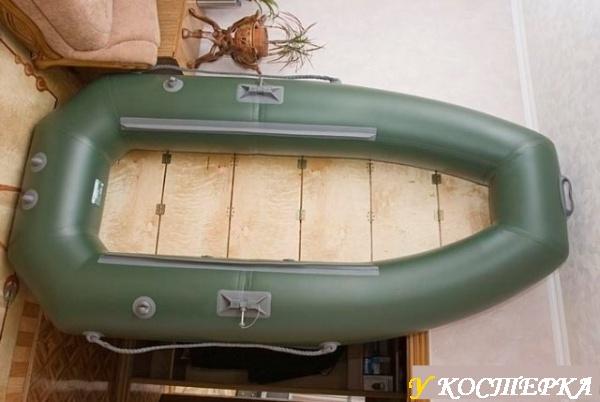 Как сделать жесткий пол для лодки из пвх