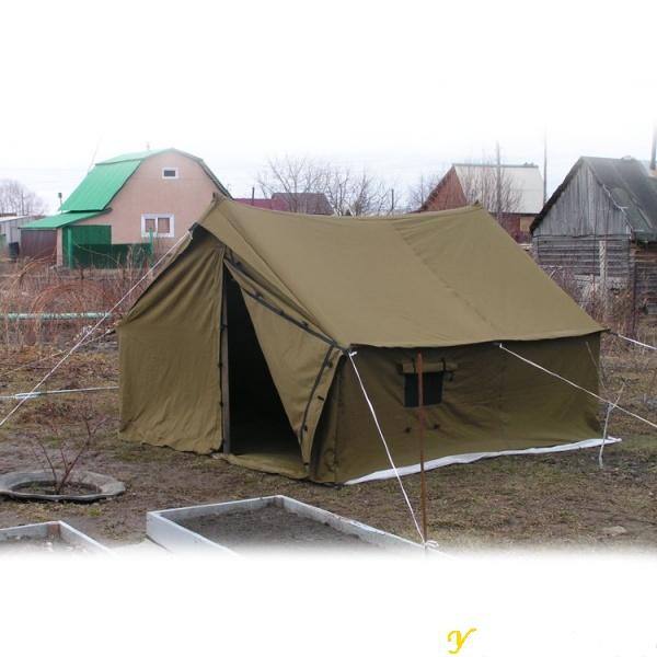 с женой в палатке русское